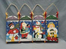 36 Units of Sled Hanging Decoration - Christmas Decorations