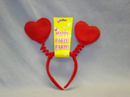 48 Units of HAIR BAND HEART - Party Hats & Tiara