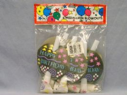 12 Units of PARTY 6 COUNT BLOWOUT - Party Favors