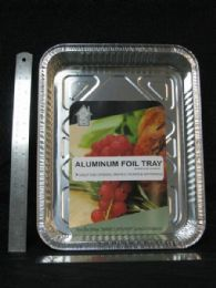 72 Units of ALUMINUM CONTAINER RECTANGLE SHALLOW PLATE - Aluminum Pans
