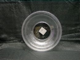36 Units of Clear Round Bowl With Lines - Serving Trays