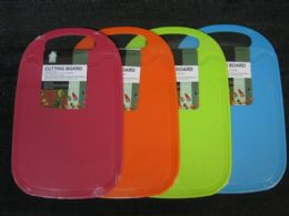 24 Units of PLASTIC CUTTING BOARD RECTANGLE ASSORTED COLOR - Cutting Boards