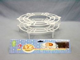 36 Units of 2 Section Plate Holder - Serving Trays