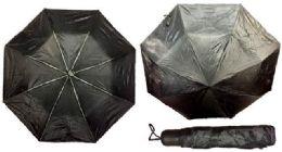 24 Units of Solid Black color Umbrella - Umbrellas & Rain Gear