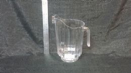 24 Units of PLASTIC CLEAR PITCHER 64 OUNCE - Plastic Drinkware