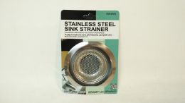 24 Units of STAINLESS STEEL SINK STRAINER - Strainers & Funnels