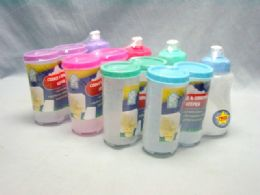 48 Units of Cookie And Cracker Keeper With Bottle - Food Storage Containers