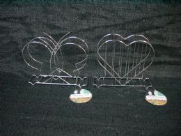 36 Units of NAPKIN HOLDER BUTTERFLY HEART - Napkin and Paper Towel Holders