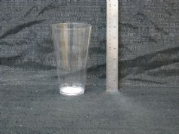 24 Units of PLASTIC TUMBLER CLEAR - Plastic Drinkware