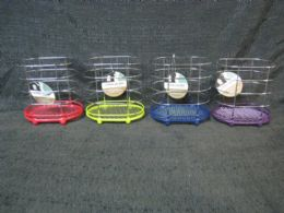 48 Units of Wire Holder Nonslip Oval 4 Assorted Colors - Kitchen Gadgets & Tools