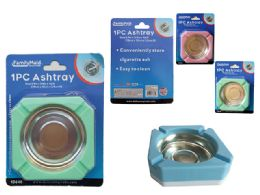 "72 Units of 4""X4""X1""H ASHTRAY - Ashtrays"