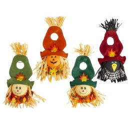 72 Units of Harvest Scarecrow Door Hanger - Home Decor