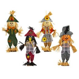 48 Units of Standing Decor Harvest Scarecrow - Home Decor