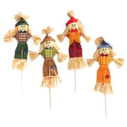 48 Units of Scarecrow Pick Decor - Home Decor
