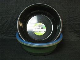 24 Units of PLASTIC BASIN ROUND - Buckets & Basins