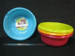 24 Units of Plastic Basin Round New Material - Buckets & Basins