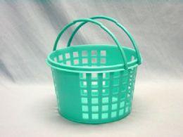 144 Units of PLASTIC HAND BASKET - Buckets & Basins