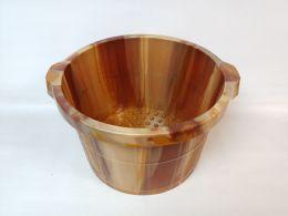 20 Units of PLASTIC PAIL WOOD FINISH - Buckets & Basins