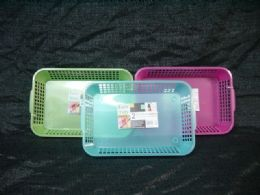 36 Units of PLASTIC 2 PIECE MULTI PURPOSE BASKET - Buckets & Basins