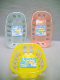 48 Units of PLASTIC OVAL BASKET - Buckets & Basins