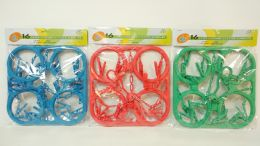 24 Units of Hanger 16 Clips Assorted Color - Hangers