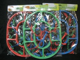 12 Units of HEAVY DUTY OVAL HANGER WITH 20 PEGS - Hangers