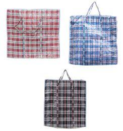 120 Units of Plastic Laundry Bag With Zipper - Hangers