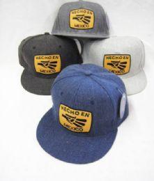 36 Units of Hecho En Mexico Snapbacks Baseball Cap - Baseball Caps & Snap Backs
