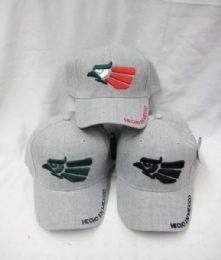 36 Units of Hecho En Mexico Baseball Cap - Baseball Caps & Snap Backs