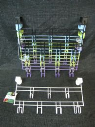 48 Units of Over Door Hanger Rack Assorted Color - Hangers