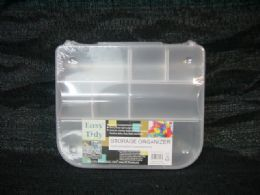 24 Units of PLASTIC STORAGE ORGANIZER - Storage & Organization