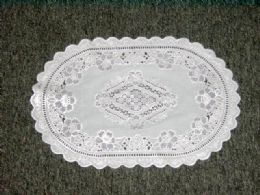 432 Units of WHITE/SILVER PLACEMAT - Placemats