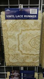 144 Units of PLACEMAT CREAM GOLD - Placemats