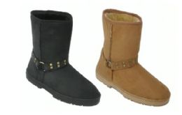 18 Units of Women's Winter Fashion Boots With Fur Lining - Women's Boots