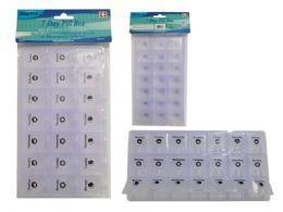 96 Units of 7 Day Pill Box - Pill Boxes and Accesories
