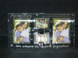 12 Units of Glass Frame 4 In 1 Family - Picture Frames
