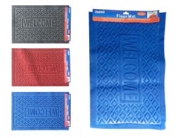 48 Units of Floor Mats In Assorted Colors - Mats