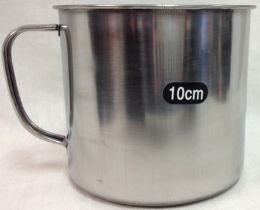 48 Units of Stainless Steel Cup - Stainless Steel Cookware