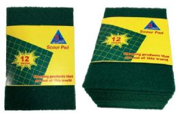 48 Units of Green color sponge cleaner - Scouring Pads & Sponges