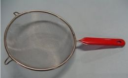 48 Units of 7 Inch Round Mesh Strainer with Handle - Strainers & Funnels