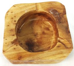 48 Units of Wood Ashtray - Ashtrays