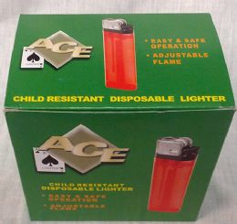 200 Units of Child Resistant Disposable Lighter - Lighters