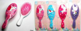 48 Units of Kids Hair Comb with assorted colors - Hair Brushes & Combs