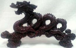 8 Units of Red Dragon Statue - Home Decor