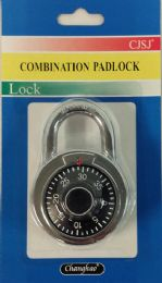 24 Units of Combination Padlock Silver And Black - Padlocks and Combination Locks