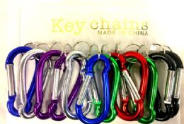 48 Units of Large size Key Chain assorted colors - Key Chains