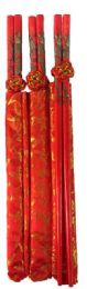 108 Units of Dragon Design Chopstick With Bag - Novelty & Party Sunglasses