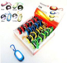 48 Units of Keychain Light Multicolor LED Mini Pocket Flashlight 4 colors - Key Chains