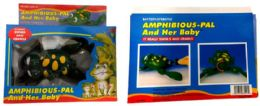 12 Units of Swimming and crawling Frog - Light Up Toys