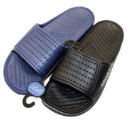 36 Units of Men Slide On Sandals - Men's Flip Flops and Sandals
